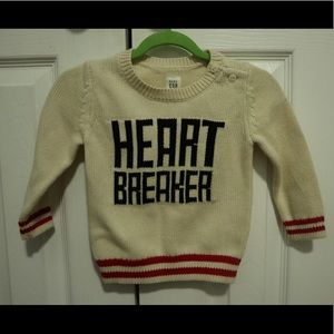 Baby Gap Heart Breaker Sweater